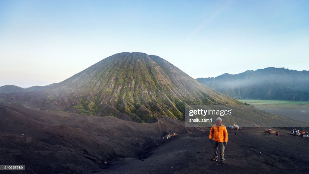 Morning at Mt. Bromo : Stock Photo