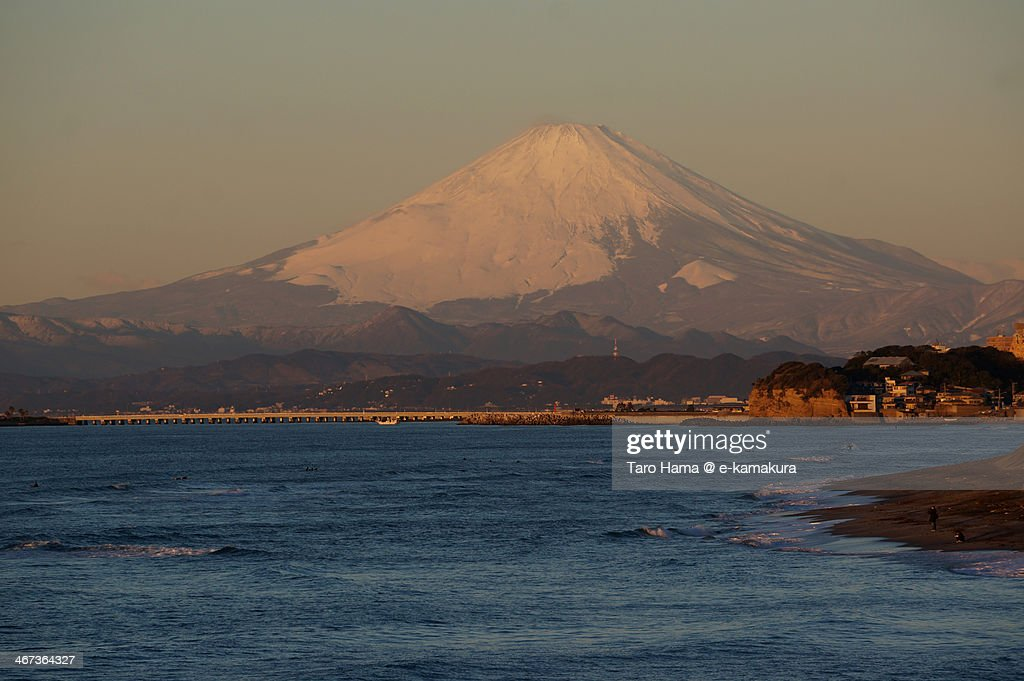 Morning at Mt.Fuji : Stock Photo