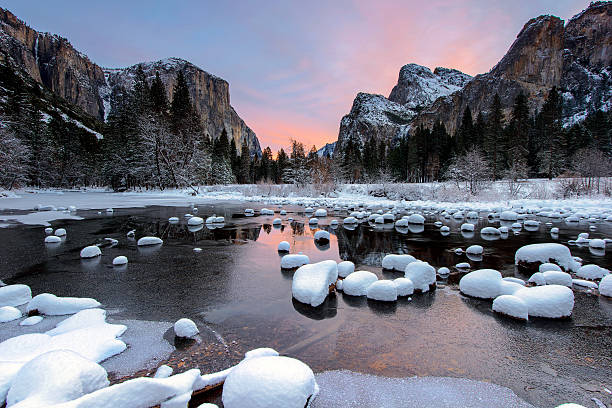 Morning at Yosemite