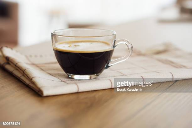 morning boost. double espresso, anybody? - espresso stock pictures, royalty-free photos & images