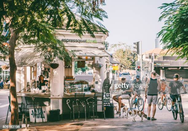 Morning Cafe in Tel Aviv