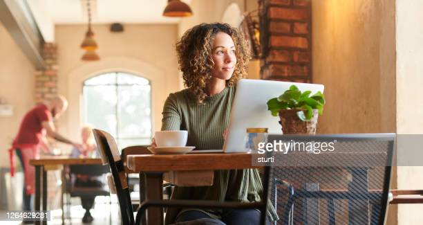 morning catch up - internet cafe stock pictures, royalty-free photos & images