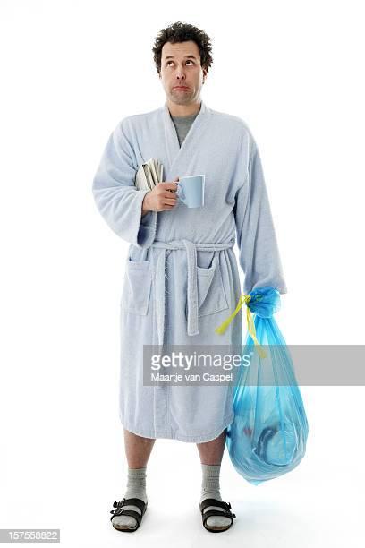 Morning Chores - 'Sad' Man