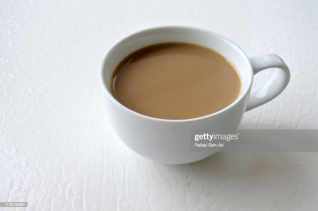 Morning Coffee in a Mug : Stock Photo