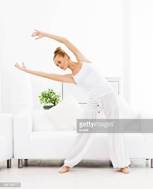 Vos exercices du matin à la maison
