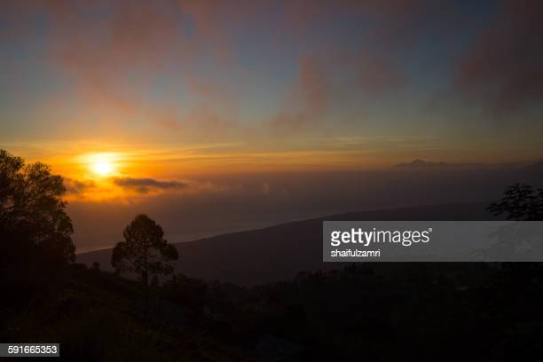 morning from batur - shaifulzamri stock pictures, royalty-free photos & images