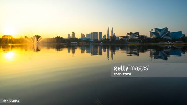 morning from kuala lumpur - shaifulzamri stock pictures, royalty-free photos & images