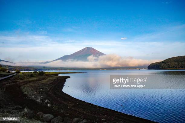 Morning Fuji at Lake Yamanaka