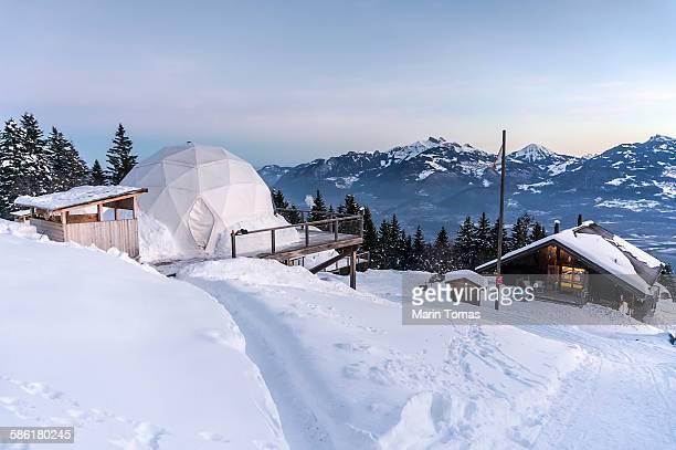Morning in Alps