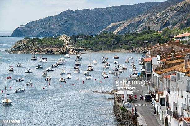 morning in cadaques - cadaques stock pictures, royalty-free photos & images