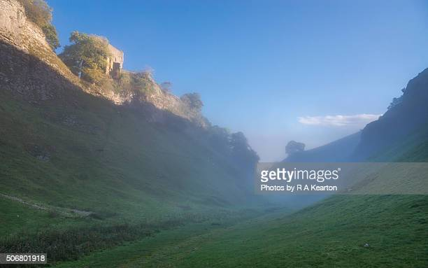Morning in Cave dale, Castleton, Derbyshire