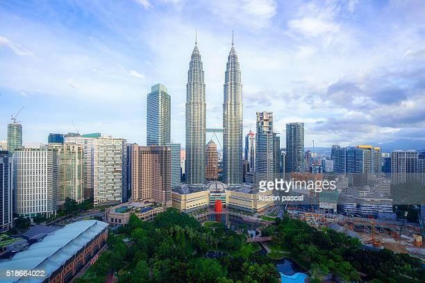 morning in Kuala Lumpur ( Malaysia )