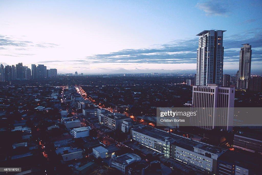 Morning in Manila : Stock Photo