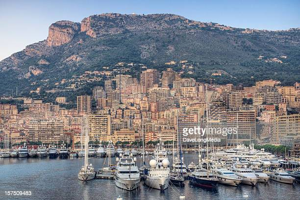 morning in monte carlo - monte carlo stock pictures, royalty-free photos & images