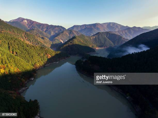 morning in the mountain - mie prefecture stock pictures, royalty-free photos & images