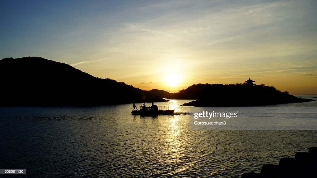 Morning in Tomonoura : Stock Photo