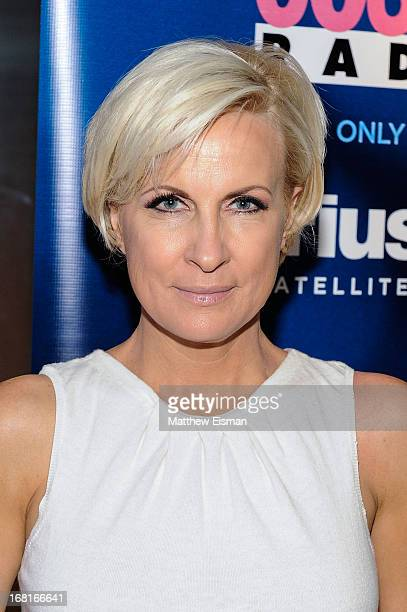 Morning Joe cohost Mika Brzezinski author of Obsessed America's Food Addiction and My Own visits SiriusXM's Cosmo Radio at SiriusXM Studios on May 6...