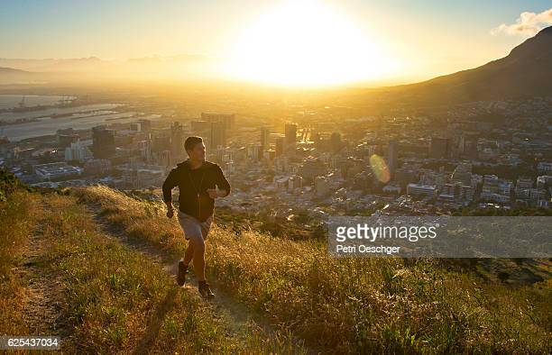 morning jog. - prosperity stock pictures, royalty-free photos & images