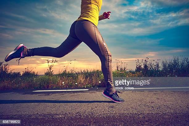 Morgen joggen Zeit