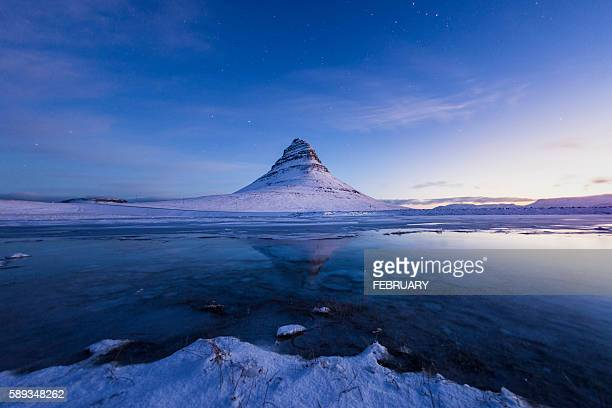 Morning Kirkjufell in Winter