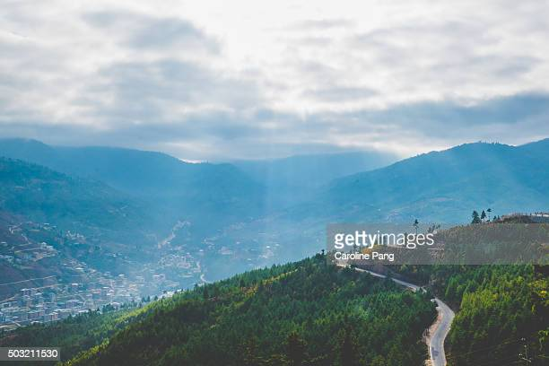 morning landscape - caroline pang stock pictures, royalty-free photos & images