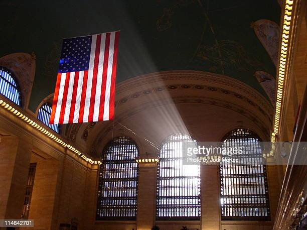 morning light in grand central - grand central station stock photos and pictures