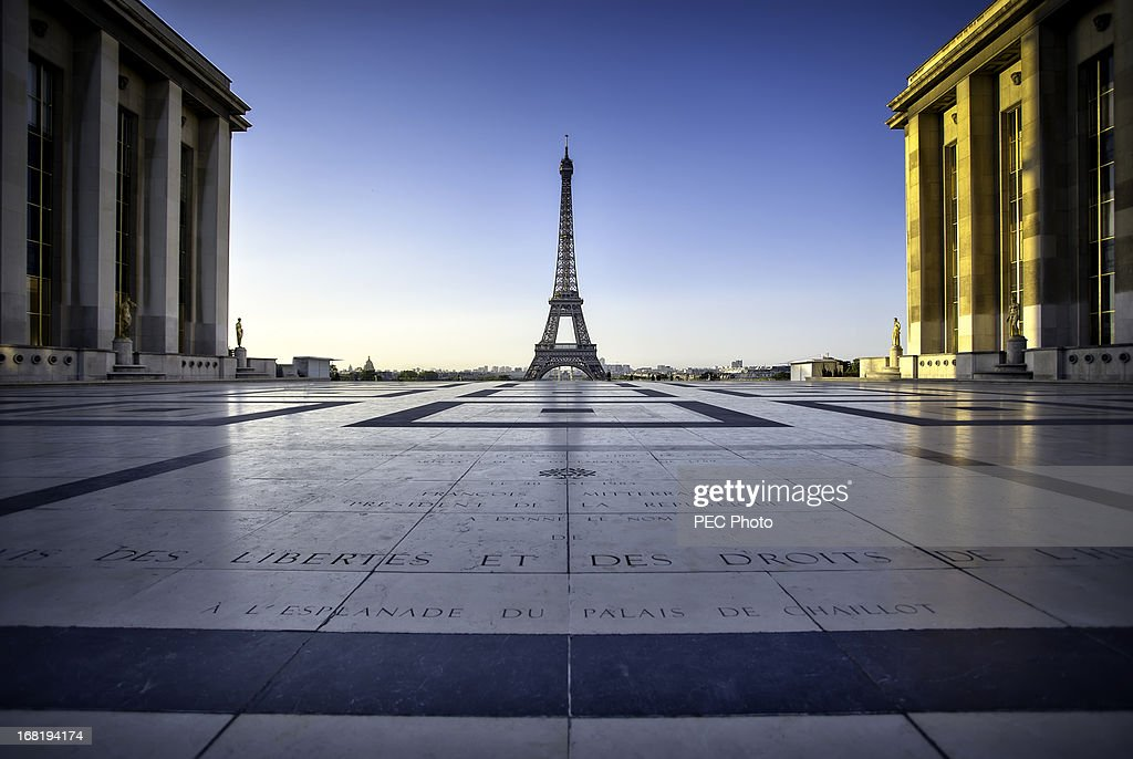 Morning light of Paris : Stock Photo