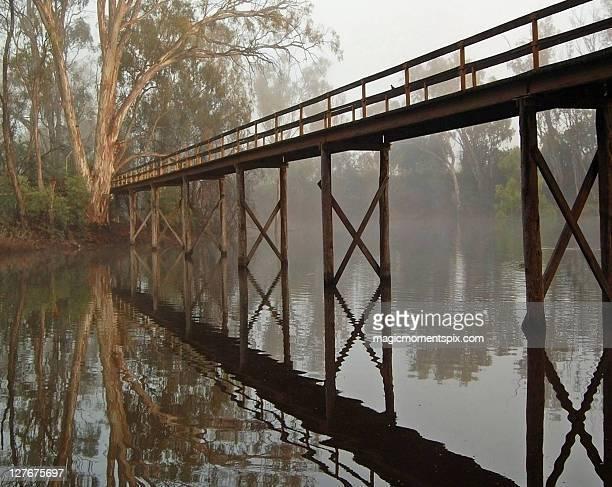 Morning Mist, Echuca,