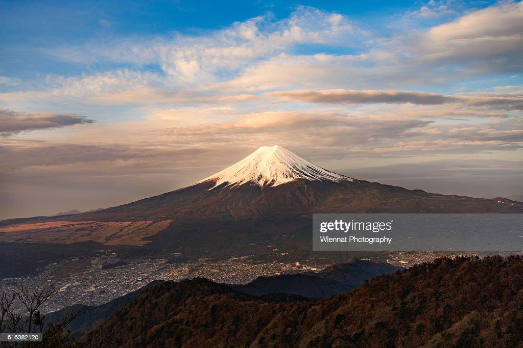 Morning Mount Fuji : Stock Photo