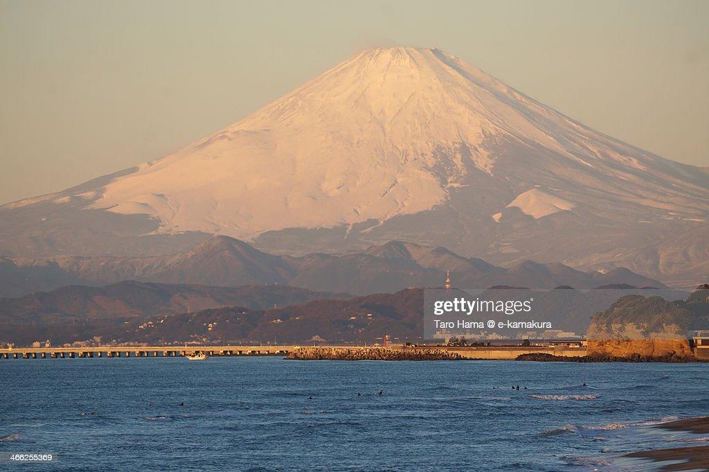 Morning Mt.Fuji : Foto de stock