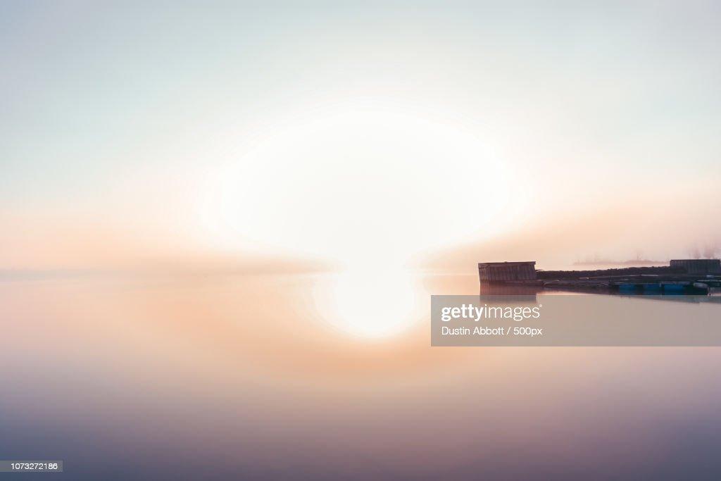 Morning Mushroom Cloud : Stock Photo