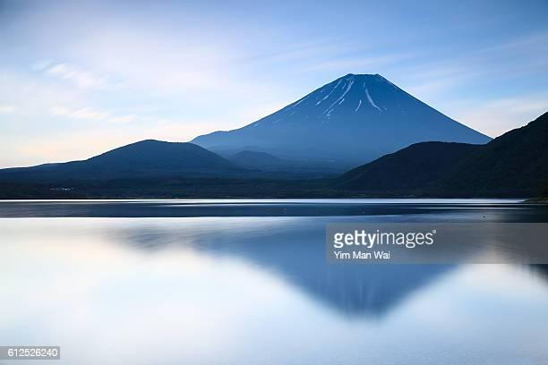 Morning of Mt.Fuji, Japan