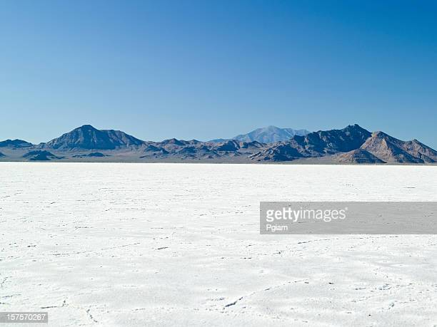 morning on the flats in ut - bonneville salt flats stock pictures, royalty-free photos & images