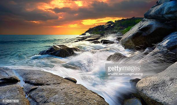 morning - prachuap khiri khan province stock pictures, royalty-free photos & images