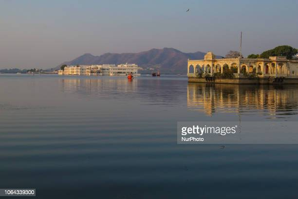 Morning pictures of Udaipur or the City of Lakes and everyday life Udaipur is a historic small city in Rajasthan district It was the capital of Mewar...