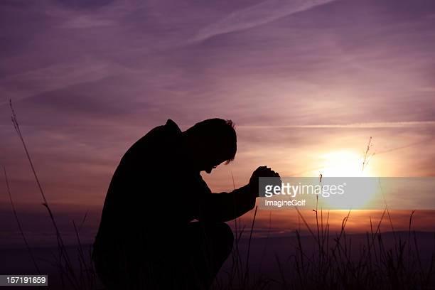 Morning Prayer Silhouette