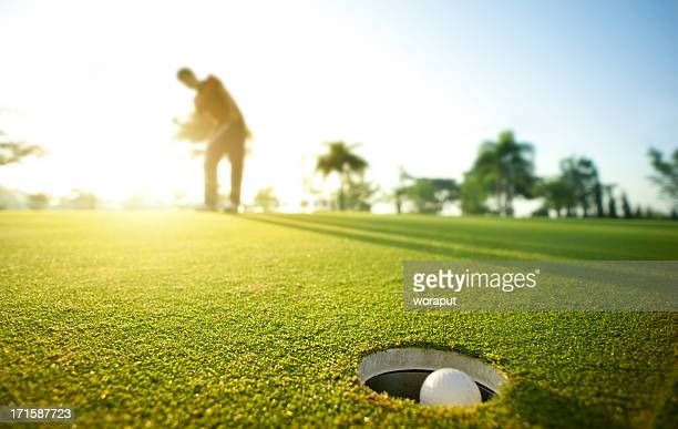 morning putt - putting stock pictures, royalty-free photos & images