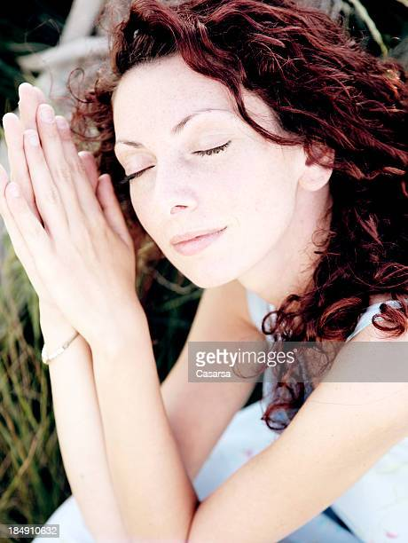 morning quietness - wishful skin stock pictures, royalty-free photos & images