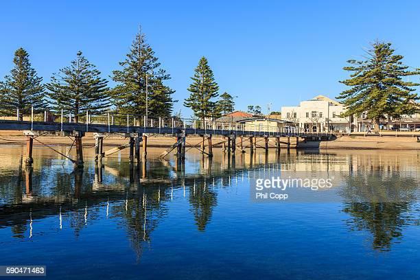 morning reflections - porto lincoln - fotografias e filmes do acervo