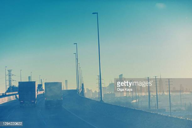 morning roads - new jersey stock pictures, royalty-free photos & images