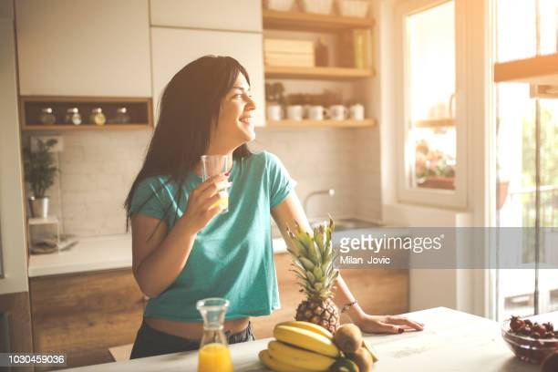 morning routine - sunny stock pictures, royalty-free photos & images