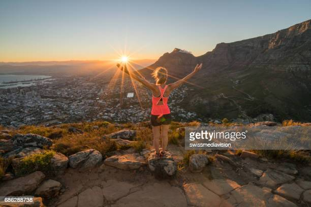 Morning run, Cape Town, South Africa