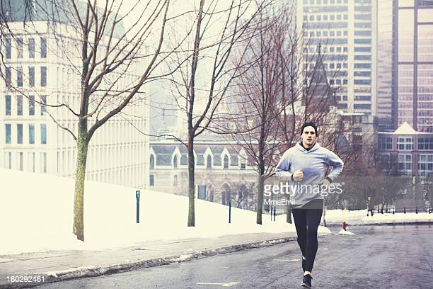 Morning Run Downtown