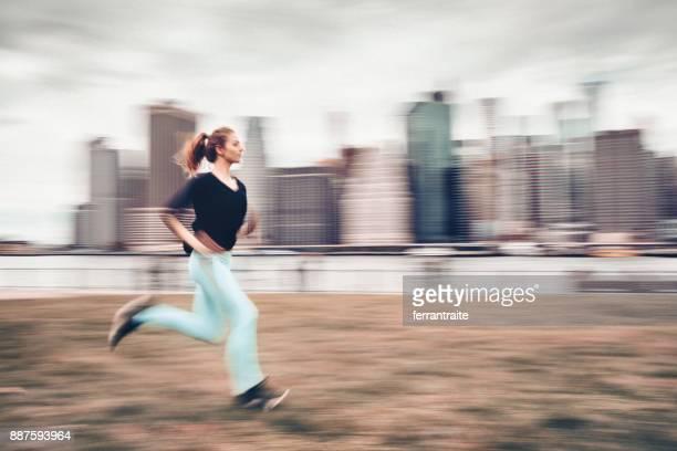 Morning Run in New York
