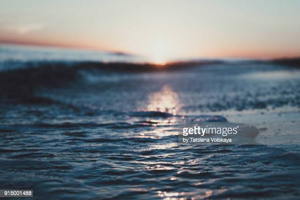 morning sea romantic beautiful background - seascape stock pictures, royalty-free photos & images