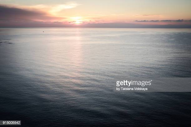 Morning sea romantic beautiful background