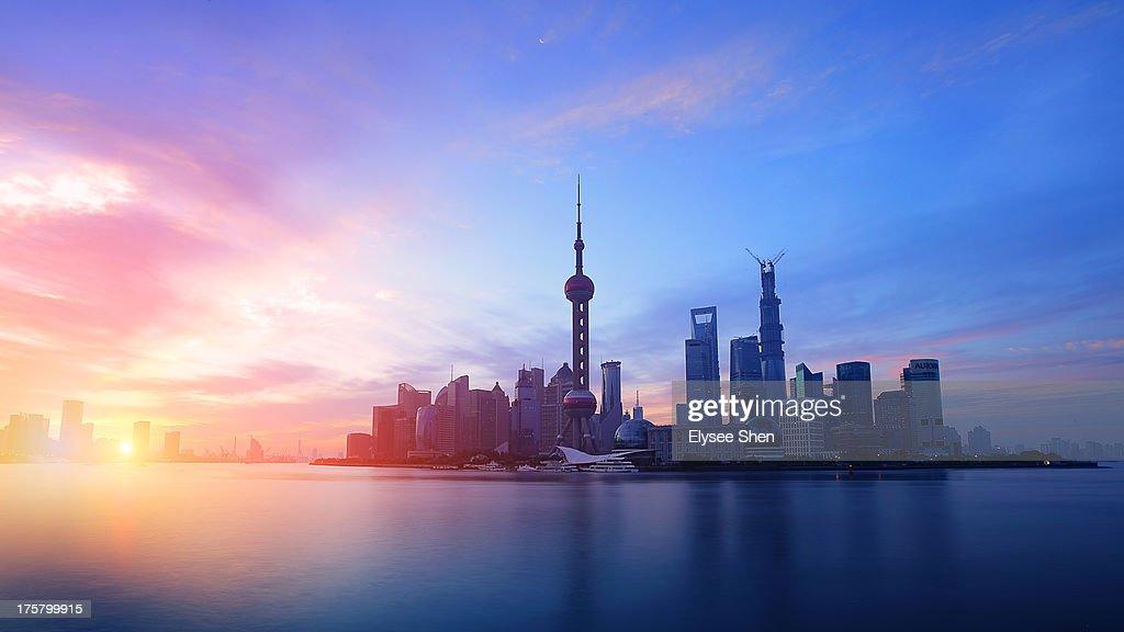 Morning Shanghai : Stock Photo