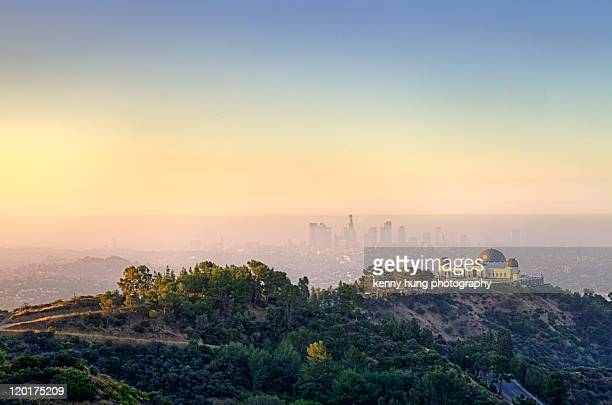 morning shot - griffith park stock pictures, royalty-free photos & images