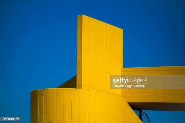 morning sun: riverside architectural design, structure & shape - london architecture stock pictures, royalty-free photos & images