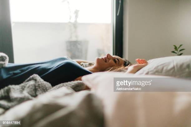 morning time - waking up stock pictures, royalty-free photos & images